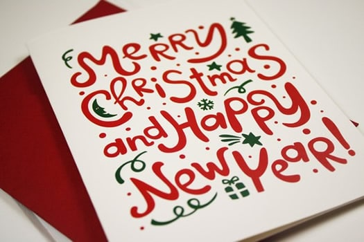 Merry Christmas & Happy New Year Post