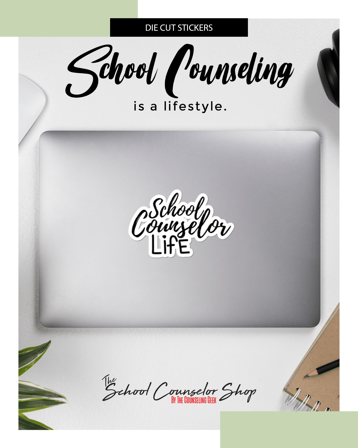 School Counselor | Counselor Sticker | Laptop Sticker| School Counselor Life Bubble-free stickers